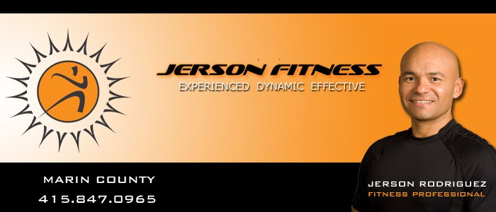 jerson fitness corte madera 94925 personal trainer marin county professional training in home gym bootcamp